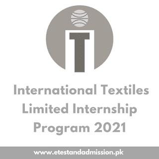 International Textile Limited Internship Program 2021