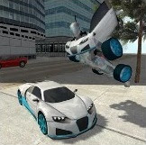 Games Flying Car Robot Simulator Download