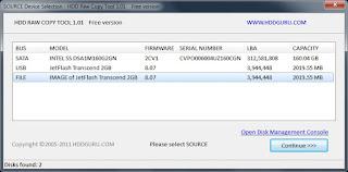 Menyelamatkan Data Hard Disk dengan HDD Raw Copy Tool