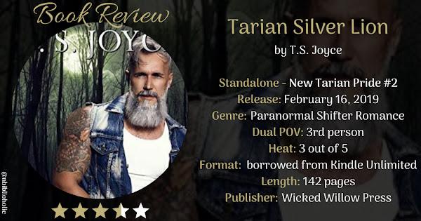 Tarian Silver Lion by T.S. Joyce