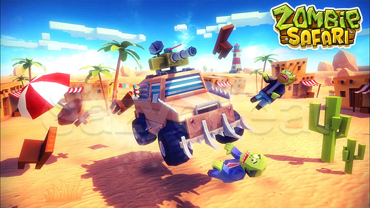 Zombie Offroad Safari 1.2.1 Unlimited Gems