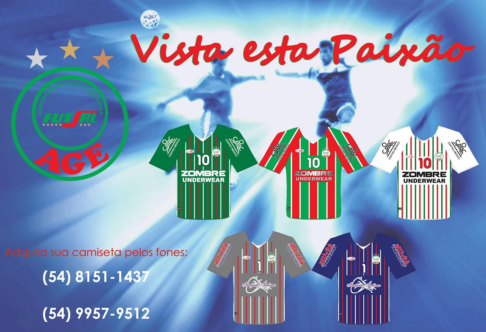 f49013388f AGE Futsal  AGE fecha parceria com a Squema Sports
