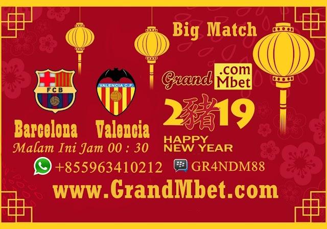 Barcelona VS Valencia Malam Ini !! Siapa Yang Menang ???