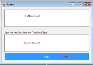 VB.NET Split Array String.Split() Method