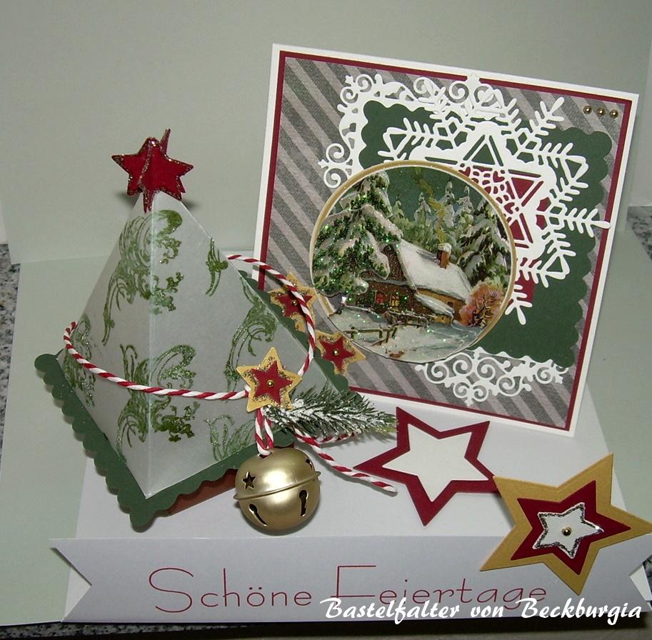 Bastelfalter von Beckburgia: Weihnachten 2015 ...
