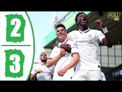 Norwich City vs Chelsea 2-3 All Goals And Match Highlights [MP4 & HD VIDEO]