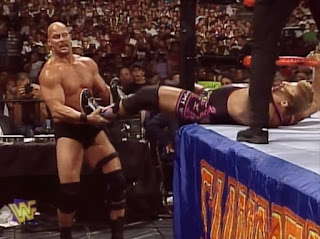 WWE / WWF - Summerslam 1997 - Steve Austin vs. Owen Hart