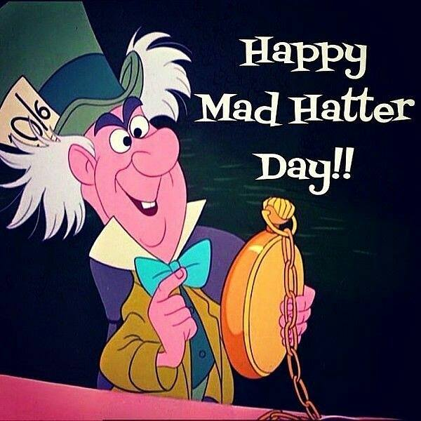National Mad Hatter Day Wishes Beautiful Image