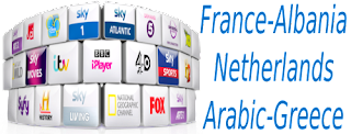 France M6 Arabic ALB Kino Greece ERT VLC