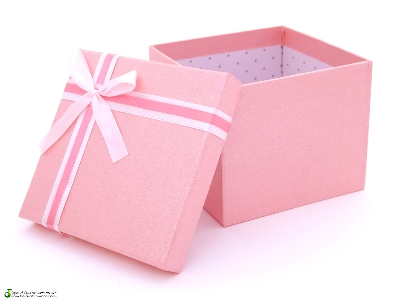 Download: Open Pink Gift Box Image