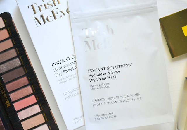 Trish McEvoy Hydrate and Glow Dry Sheet Mask