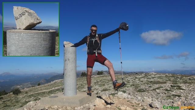 """Subida al Pico los Obispos """"techo de Murcia"""" y al Pico Revolcadores."""