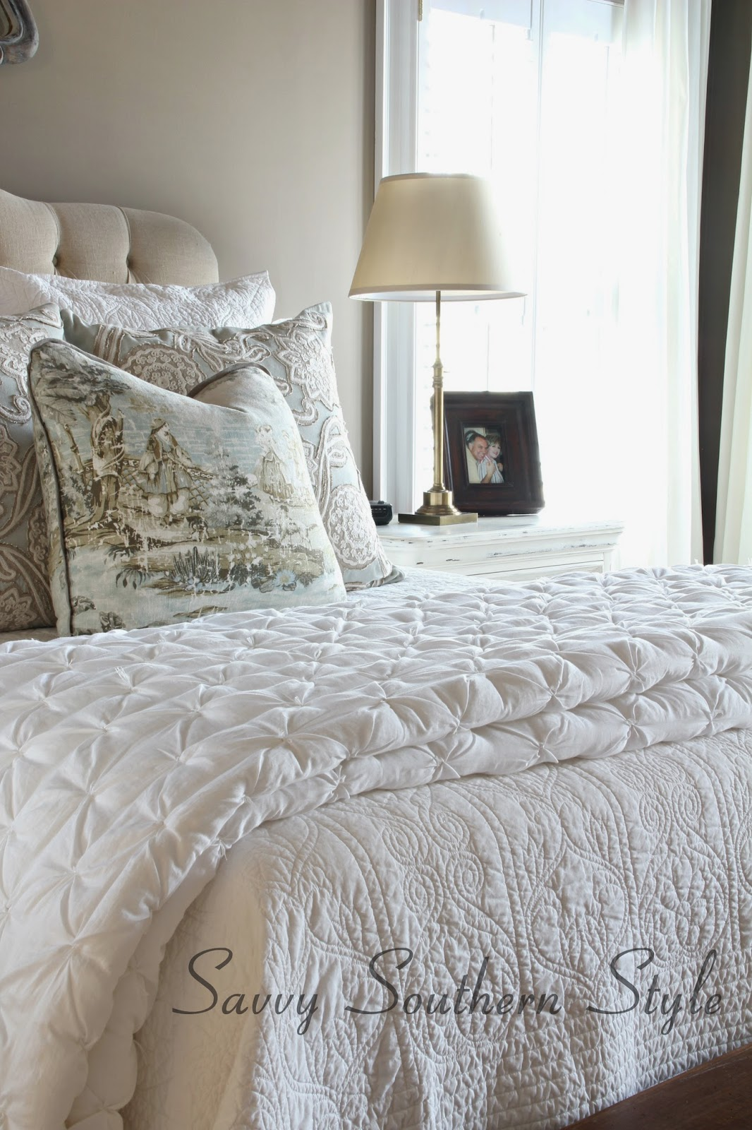 Best Savvy Southern Style : Answering Questions About My Bed and a How To RI85