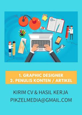 lowongan kerja graphic design pikzel media