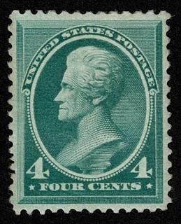4c President Andrew Jackson 1883