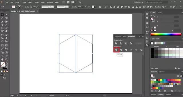 Negative Space Logo in Adobe Illustrator
