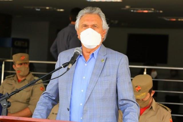 O Governador Ronaldo Caiado manifesta pesar pela morte do jornalista e empresário Carlos Bueno de Moraes