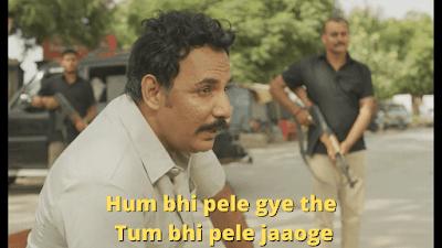 Hum bhi pele gye the tum bhi pele jaaoge | Mirzapur Meme Templates