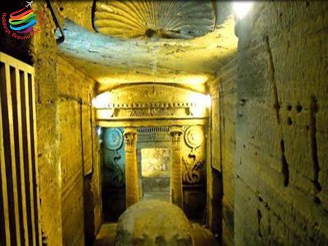 Catacombs of Kom El Shoqafa - Alexandria