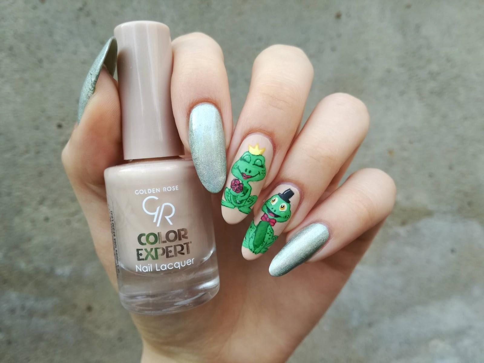 żabki paznokcie