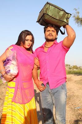 Khesari Lal Yadav and Anjana Singh Movies List