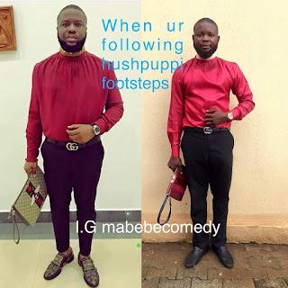 Another Man Imitates Hushpuppi