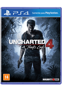 Jogo Uncharted 4: A Thief`s End [PS4]