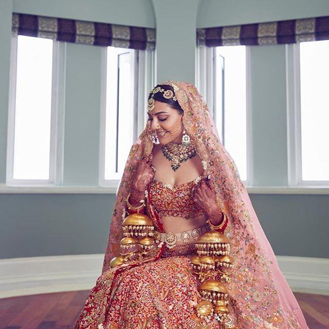 Wedding Pics: Kajal Agarwal Wedding Pictures