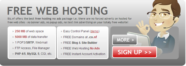 Top 7 Websites That Provide Free Web Hosting Services