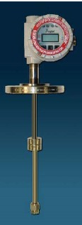 Magnetostrictive liquid level transmitter for industrial process measurement and control