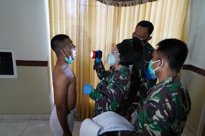 Danrem 162/WB Pimpin Sidang Parade Penerimaan Calon Tamtama TNI AD