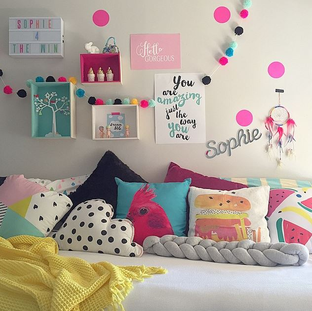 Blog dormitorios juveniles com c mo decorar las paredes for Paredes habitacion infantil