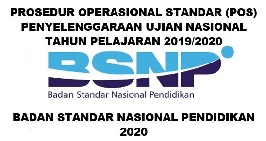 POS Ujian Nasional (UN) Terbit 14 Januari 2020