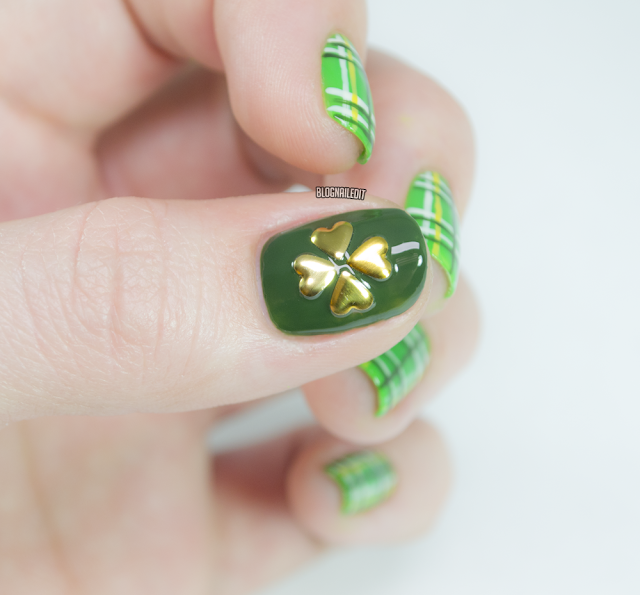 Four Leaf Clover Nails