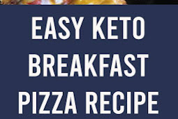 Easy Keto Breakfast Pizza Recipe #keto #breakfast #pizza #recipes #homemade