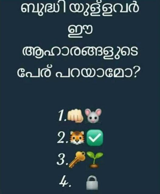 Kerala food item names
