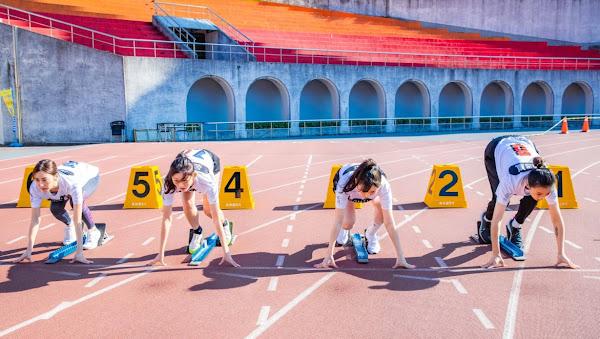 《全明星運動會》女子組百米比試