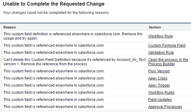 how to delete salesforce account