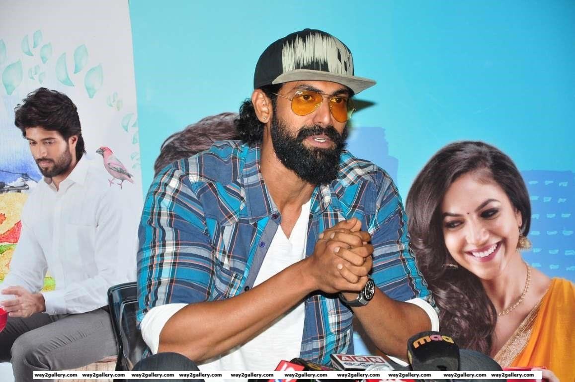 Rana Daggubati heaped praise on Telugu film Pelli ChoopuluPellichoopulu A really lovely and an endearing film a story beautifully told by Tarun Baskar A MUST WATCH said Rana via Twitter