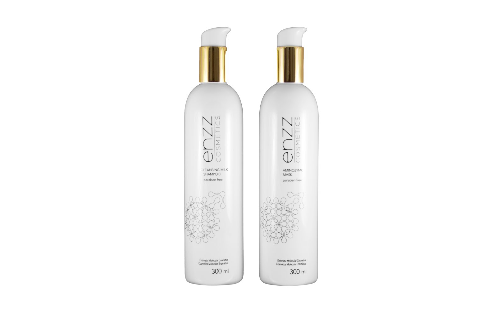 Cleansing milk shampoo - 300ml. | Aminozyme mask - 300ml.