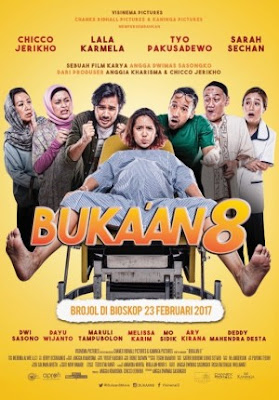 Trailer Film Buka'an 8 2017