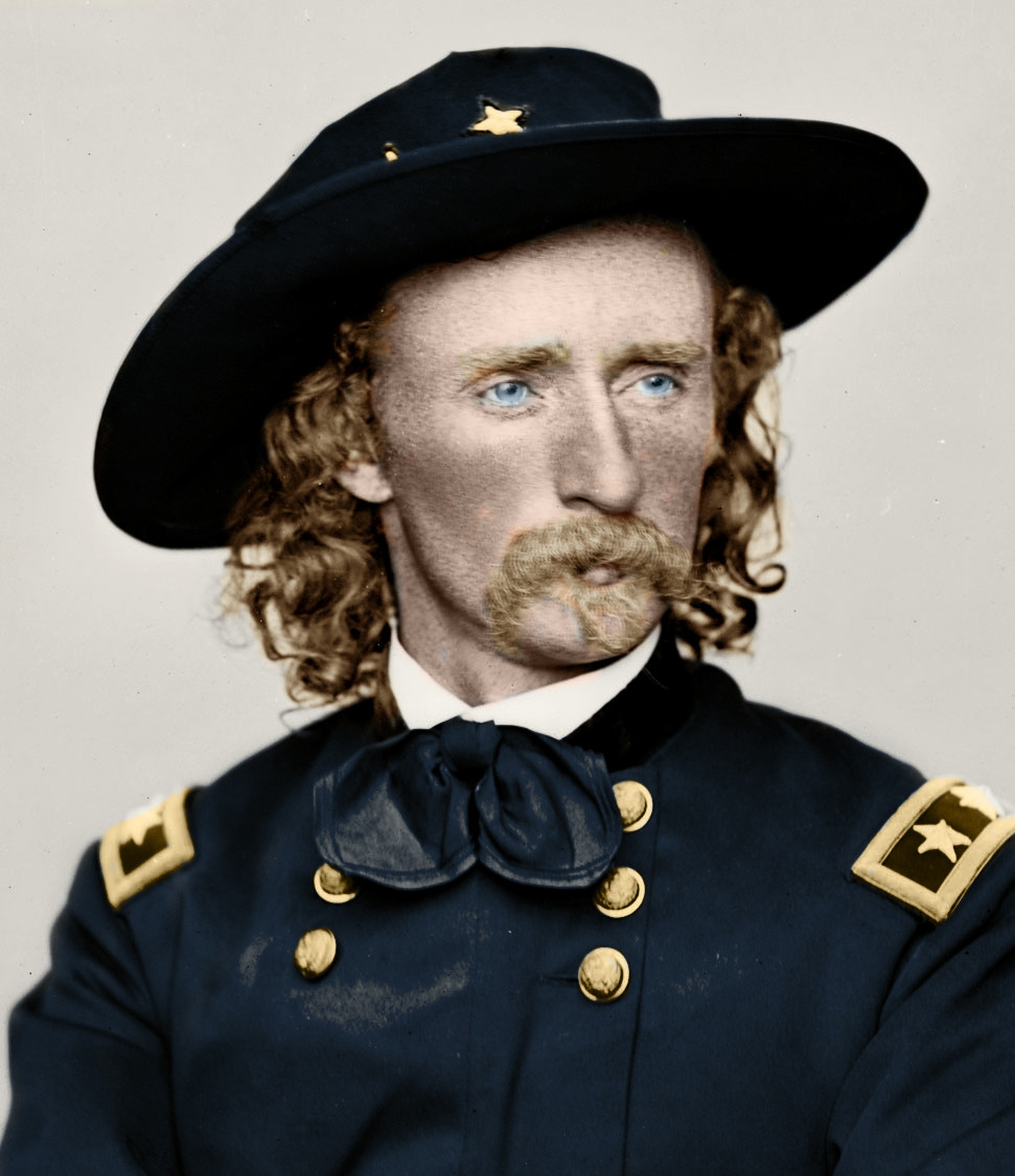 essay on george armstrong custer There are many people in the civil war that helped the north win it one of those people is george armstrong custer he was a general for the united states army until.
