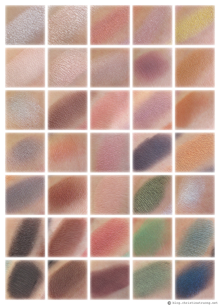Christina Truong Nyx Beauty School Dropout Palette Graduate Swatches