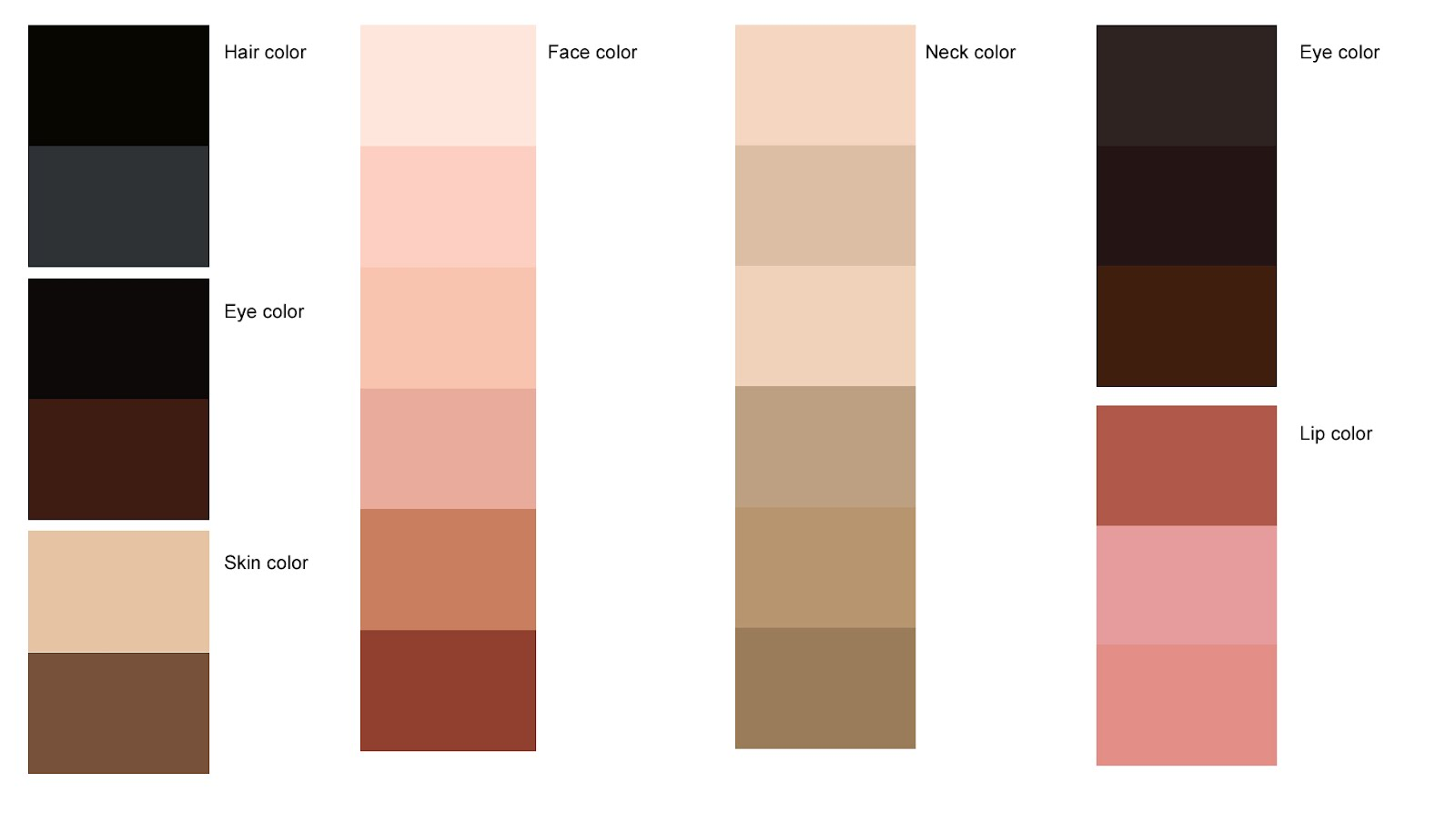 Dressing my truth blog learn your hair skin eye colors Color combinations numbers
