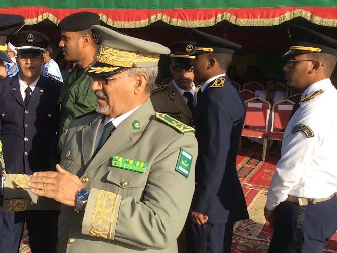 El Jefe del Ejército de Mauritania y el director de Seguridad del Estado realizan una visita a Marruecos