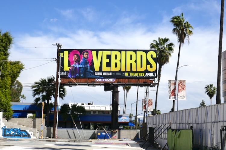 Lovebirds movie billboard