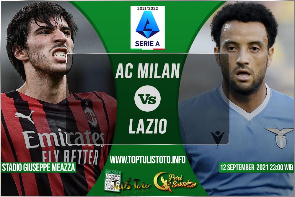 Prediksi AC Milan vs Lazio 12 September 2021
