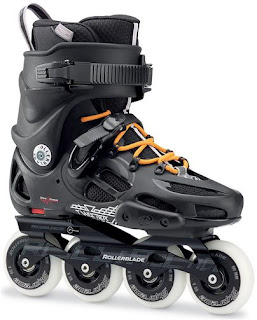 roller inline adulte skatecross freeslate rollerblade twister 80mm