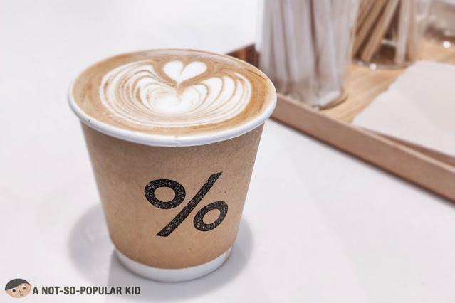 Spanish Latte of % Arabica Cafe