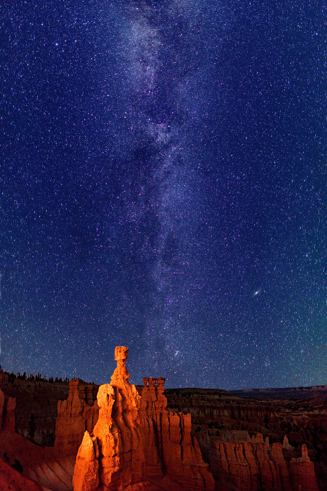 Into The Night Photography: Milky Way Sentinel at Bryce